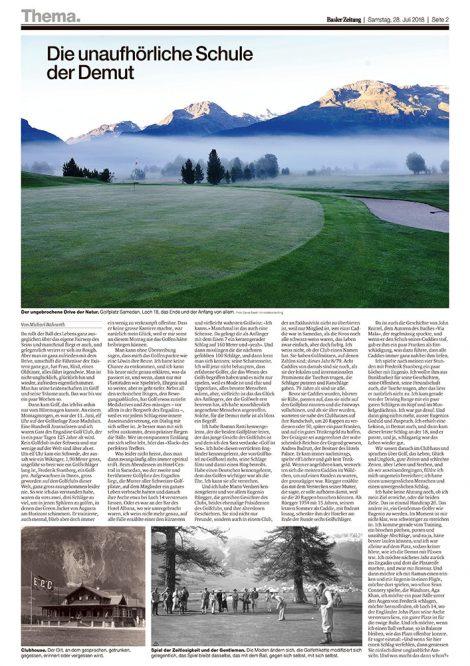 baseler Zeitung engadin golf tn hotel media consulting hotel pr agentur