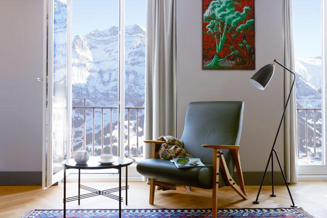 Foto von neu bei TN: <br> Die Schweizer Hotel-Ikone